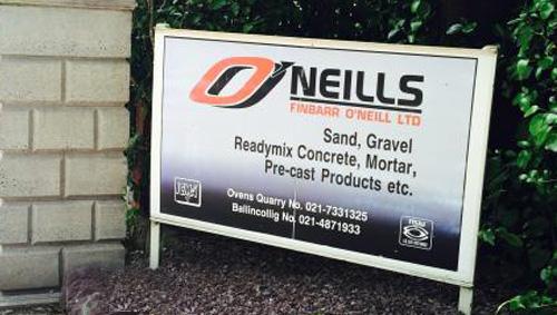 Finbarr O'Neills Quarry Range