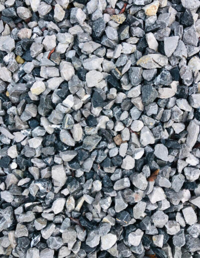 Black and Silver Mulch 25mm-40mm