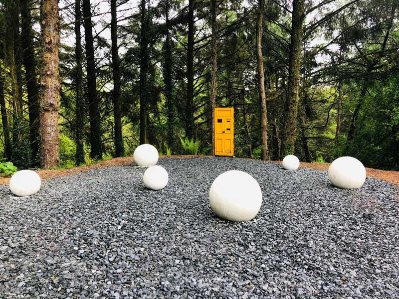 Decorative Concrete Spheres